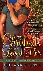 The Christmas He Loved Her (Bad Boys of Crystal Lake Book 2)