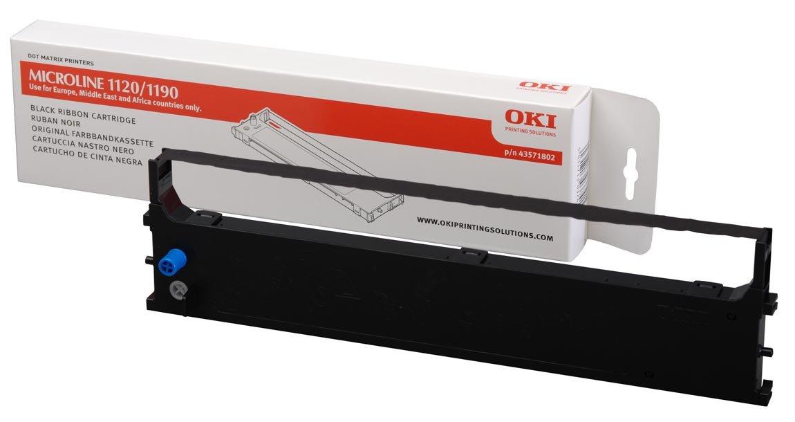 OKI 43571802 - Cartucho de tinta negra: Amazon.es: Oficina y ...