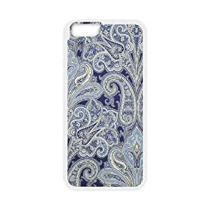 Scalamandre Kellie Garden, Blue IPhone 6 Plus Cases, Jumphigh {White}