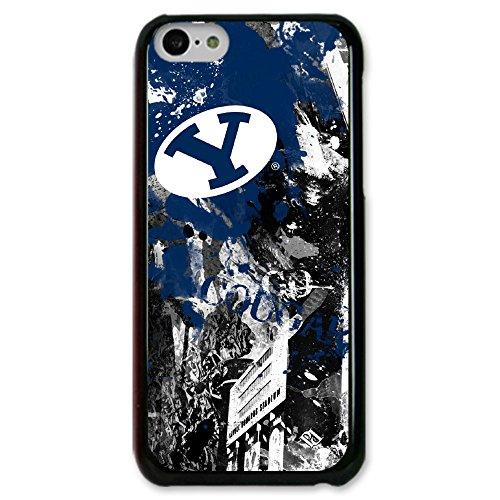 NCAA BYU Cougars Paulson Designs Spirit Case for iPhone 5C, Slim, Black