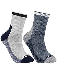 Women's Merino Wool Hiking Walking Trekking Socks - YUEDGE Warm Wool Crew Socks