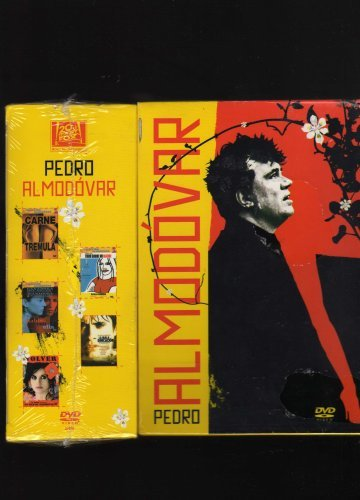 Pedro Almodovar 5 DVD Pack (Carne Tremula (Live Flesh); Todo Sobre Mi Madre (All About My Mother); Hable Con Ella (Talk To Her); La Mala Educacion (Bad Education) & Volver) Collection Box Set [NTSC/REGION 4 DVD. Import-Latin America]