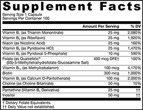 Jarrow Formulas B-Right Complex, Supports Engery, Brain and Cardiovascular Health, 290 Veggie Caps (290 Count)