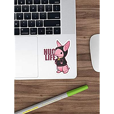 Deangelo Nug Life Stickers (3 Pcs/Pack): Kitchen & Dining
