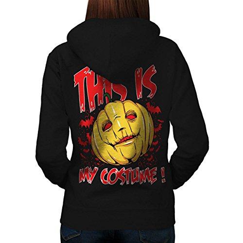 Female Psycho Clown Costume (Halloween Costume Horror Women M Hoodie Back | Wellcoda)