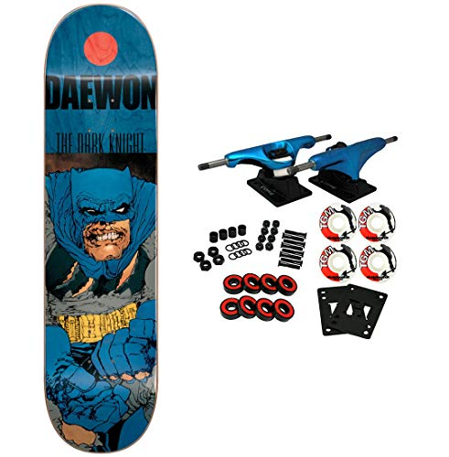 Checker Complete Skateboard - Almost Skateboard Complete FM Dark Knight Batman Song 8.0