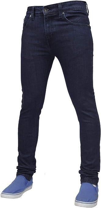 TALLA 32W / 32L. Pantalones vaqueros de algodón para hombre G-72 elásticos, ajustados, ajustados
