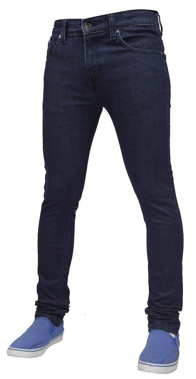 Pantalones Vaqueros de algodón para Hombre G-72 elásticos, Ajustados, Ajustados