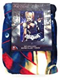 Batman Arkham Knight Harley Quinn Super Plush Throw Blanket