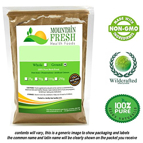 Mexican Wild Yam Root (Barbasco (Mexican Wild Yam) Dioscorea mexicana Ground 50g FREE UK Delivery)