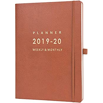Amazon.com : Planner 2019-2020 - Academic Weekly/Monthly ...