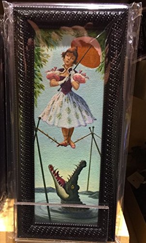 nted Mansion Stretch Room Tightrope Girl Mini Canvas Frame (Mickey Haunted Mansion)