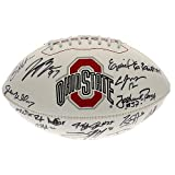 2014 Ohio State Buckeyes Team Signed Football - Ezekiel Elliott, Joey Bosa, Michael Thomas, Braxton Miller, and more - Certified Authentic