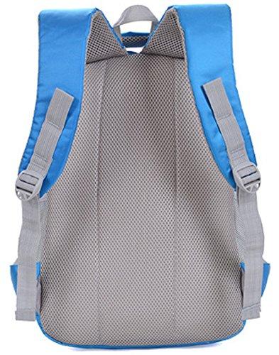 Longzibog Einfache und Modedesign. Nie aus der Mode. Mode Maedchen Rucksack Schulranzen Wasser-Blau Nm6YUjiO