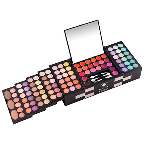 SHANY 'ALL ABOUT THAT FACE' MAKEUP KIT - ALL IN ONE MAKEUP KIT - EYE SHADOWS, LIP COLORS & MORE.