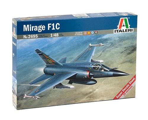 Italeri 510002695 - 1:48 Mirage F 1C