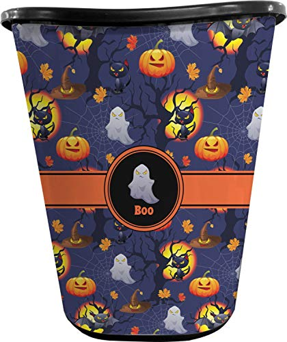 RNK Shops Halloween Night Waste Basket - Single Sided (Black) (Personalized)]()