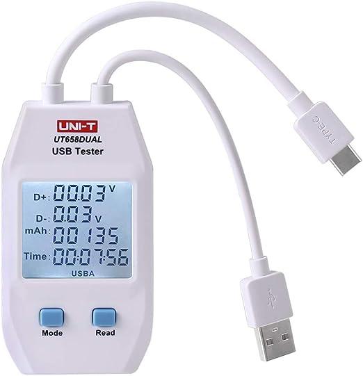 Uni T Ut658 Digital Usb Tester Voltmeter Ammeter Elektronik