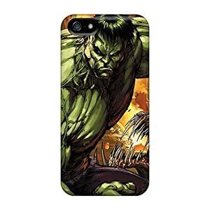 Hot Tpu Cover Case For Iphone/ 5/5s Case Cover Skin - The Hulk