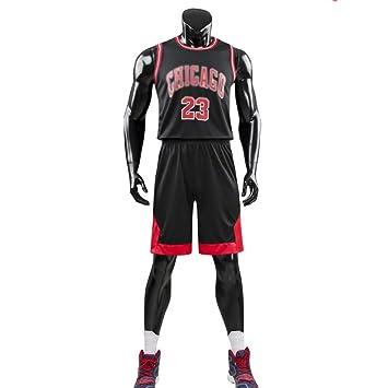 NBA 23# Bulls Jersey Traje De Bordado De Baloncesto Masculino Ropa De Entrenamiento Ropa Deportiva Al Aire Libre: Amazon.es: Deportes y aire libre