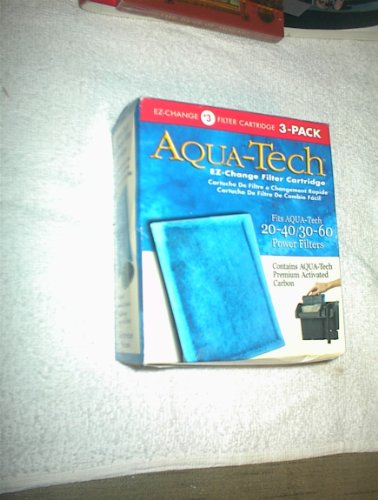 AQUA-Tech EZ-Change Filter Cartridges 3-Pak for 20-40/30-60 Power - Filter Change Cartridge Quick