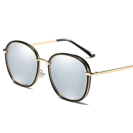 Gafas de sol polarizadas Gafas de marco retro grandes Gafas ...