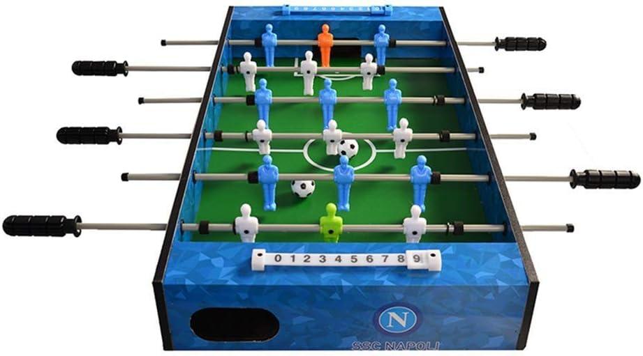 YQSHYP Juguete de Madera, Juegos de Mesa de futbolín y Accesorios ...
