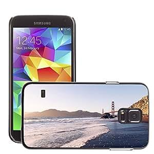 Cas Coq Case Cover // M00421446 Orilla de la playa Costa del mar del // Samsung Galaxy S5 S V SV i9600 (Not Fits S5 ACTIVE)
