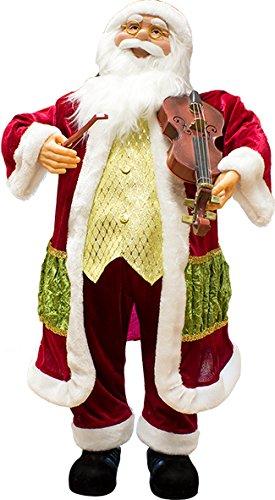 Papá Noel con música, movimiento ...