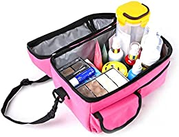 d88b2887a9f1 Walmeck Large Capacity Insulated Square Lunch Bag Cooler Tote Carry ...