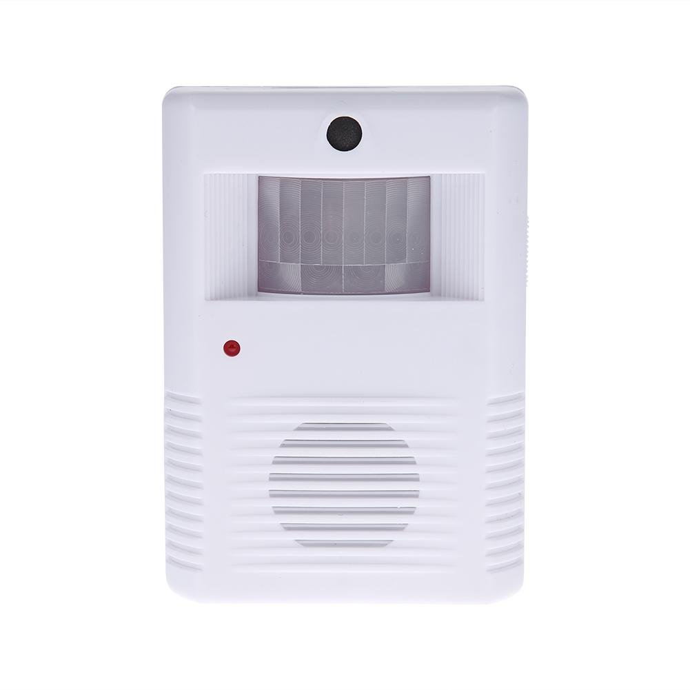 AnySell Square Guest Welcome Infrared Motion Sensor Entry Doorbell Door Chime Alarm