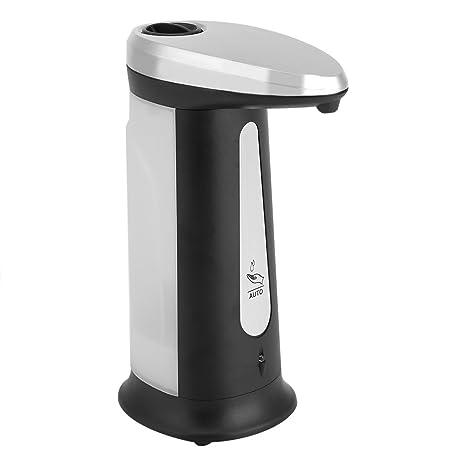 Fdit 400 ml Dispensador de Jabón Desinfectante Automático sin Contacto Eléctrico Sensor de Manos sin Líquido