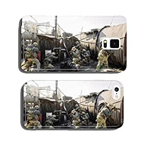 group of soldiers incapacitates plant cell phone cover case Samsung S6