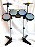 PS4 PS3 PS2 GUITAR HERO and ROCK BAND Drum Kit 2-CYMBAL band warriors of rock 4 world tour