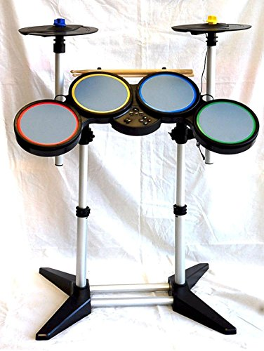 ps4 ps3 ps2 guitar hero and rock band drum kit 2 cymbal band warriors of rock 4 world tour. Black Bedroom Furniture Sets. Home Design Ideas