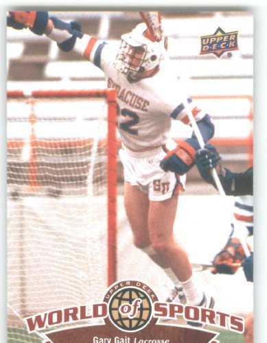 2010 Upper Deck Player - 2010 Upper Deck World of Sports #279 Gary Gait/Lacrosse/Orangemen /