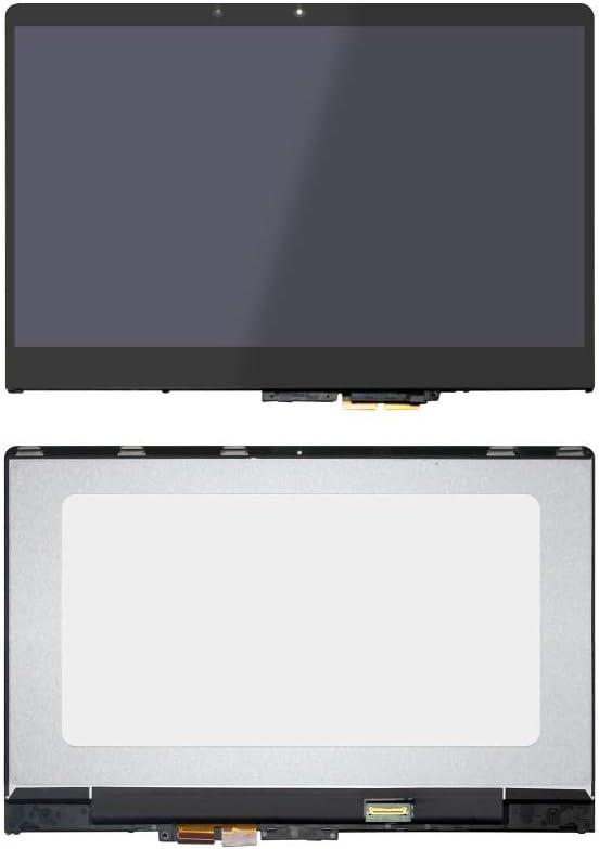 14'' Laptop LCD LED Screen+Touch Digitizer Assembly for Lenovo Yoga 710 14 Yoga 710-14 Yoga 710-14IKB LP140WF7-SPB1