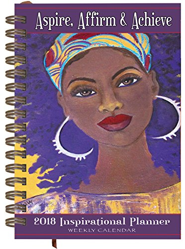 Search : Shades of Color Weekly Inspirational African American Planner: Aspire, Affirm & Achieve   (IP06)