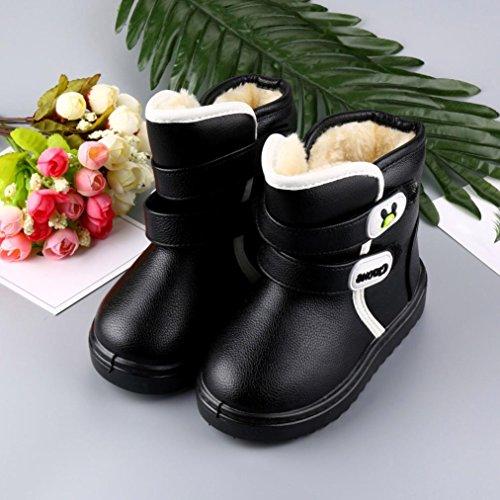 ... Huhu833 Kinder Mode Mädchen Junge Baby Stiefel, Warme Watte  Gepolsterten Schuhe Schnee Stiefel Warm Schuhe ... aa3b0f2153