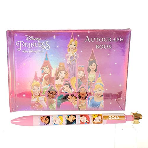 - Disney World Princess Autograph Book + Pen! Official Disney Parks!