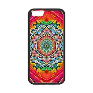 iPhone 6 Protective Case - Mandala Hardshell Cell Phone Cover Case for New iPhone 6 by runtopwell