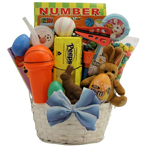 Sports Egg-stravaganza: Easter Gift Basket for Boys Ages 6 to 9 Years Old ()