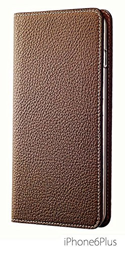 BONAVENTURA iPhone 6/6s Plus Leather Wallet Case (Beautiful European Full-Grain Leather) | BONAVENTURA Folio Flip Leather Cover Case [iPhone 6/6s Plus | TAUPE] by BONAVENTURA