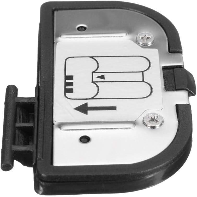 Yongse Tapa de Puerta de bater/ía Pieza de Repuesto del Conector Labial para Nikon D200/D300/D700/D300/D300s Fuji S5