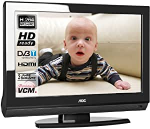 AOC L19WA91- Televisión HD, Pantalla LCD 19 pulgadas