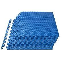 ProSource Puzzle Exercise Mat High Quality EVA Foam Interlocking Tiles