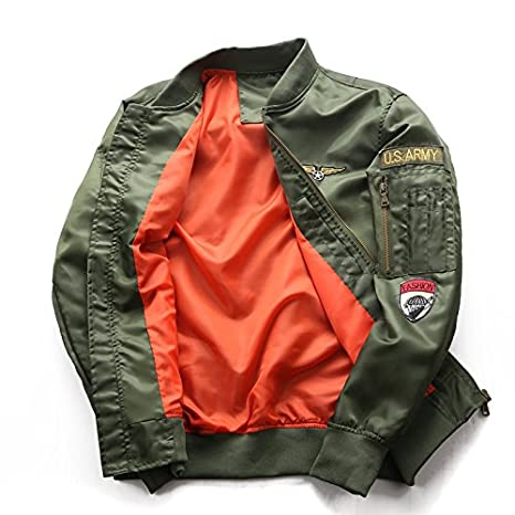 Amazon.com: Air Force Bomber Jacket Men Mens Tactical Military Jacket Male Windbreaker Mens Army Bombers Flight Jacket militaire.BB47: Clothing