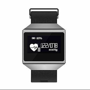 Pulsera Inteligente con Pulsómetro Pulsera Deportiva,Pulsera Reloj Inteligente con Rastreador de Salud,Monitorización