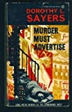 Murder Must Advertise, Dorothy L. Sayers, 006080825X