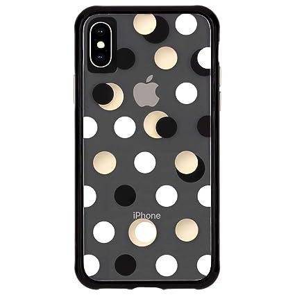 Case Mate Iphone Xs Case Wallpapers Iphone 5 8 Black Metallic Dot